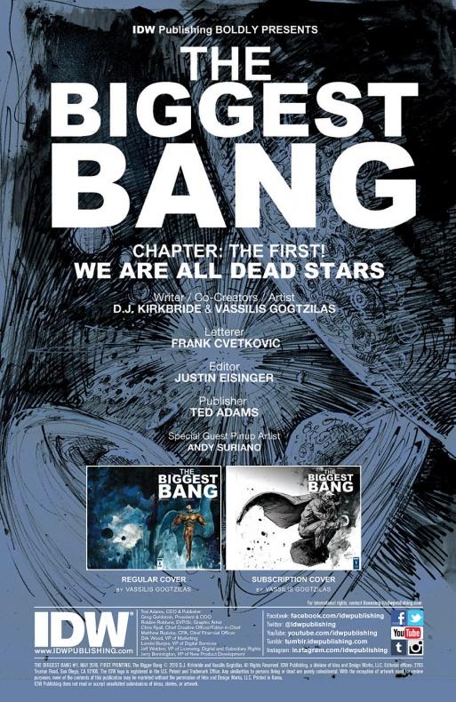 The Biggest Bang Página interior (1)