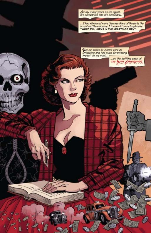 The Shadow Death of Margo Lane Página interior (1)
