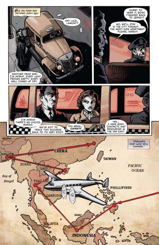 The Shadow Death of Margo Lane Página interior (4)