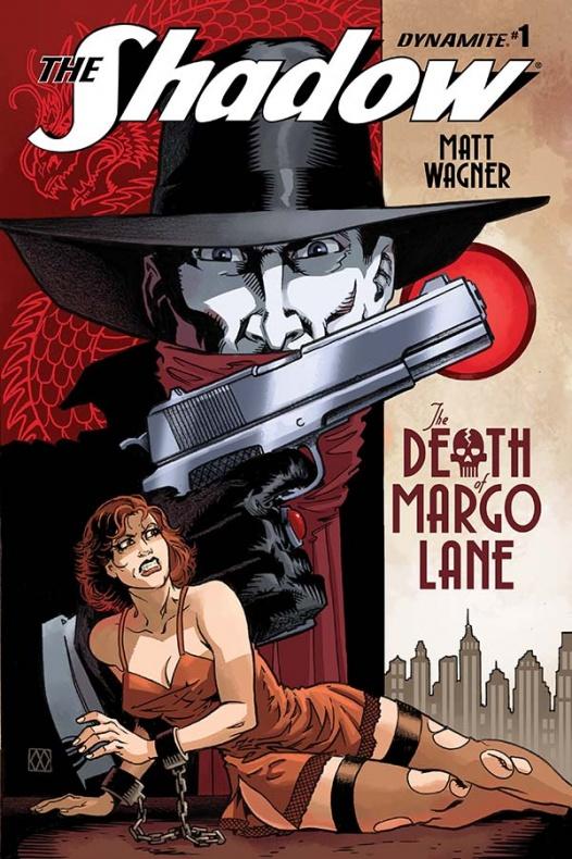 The Shadow Death of Margo Lane Portada de Matt Wagner