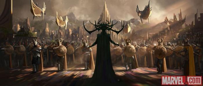 Thor Ragnarok - arte conceptual