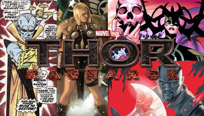 Thor Ragnarok nuevos personajes