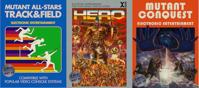 X-Men Apocalipsis juegos retro
