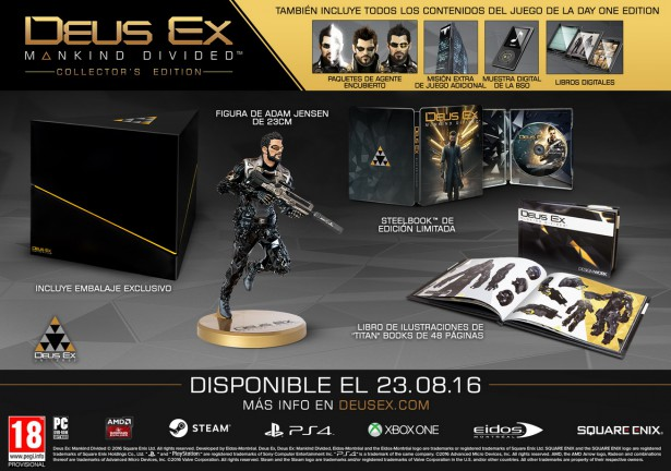deus ex collector's edition