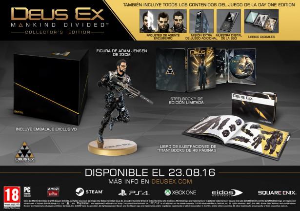 deus ex collector's edition
