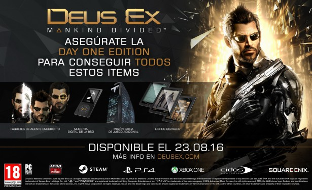deus ex day one edition