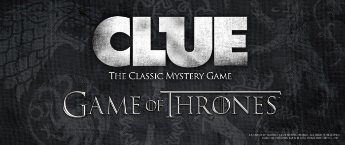 game of thrones - clue banner