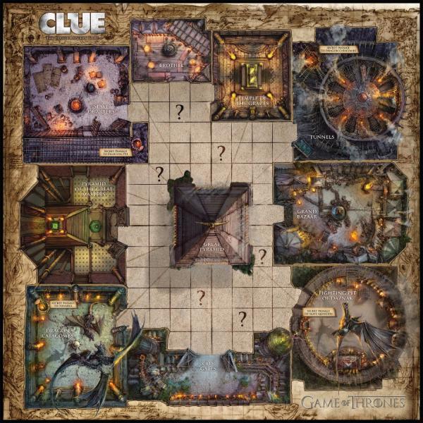 game of thrones cluedo tablero mereen