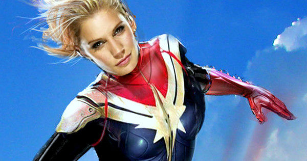 katee sackhoff - captain marvel