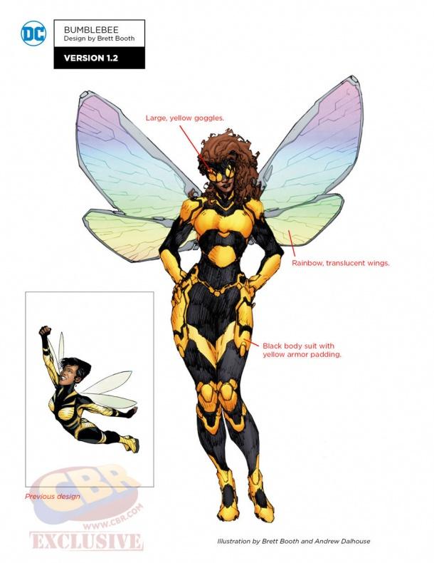 rebirth bumblebee notes 4f3ae