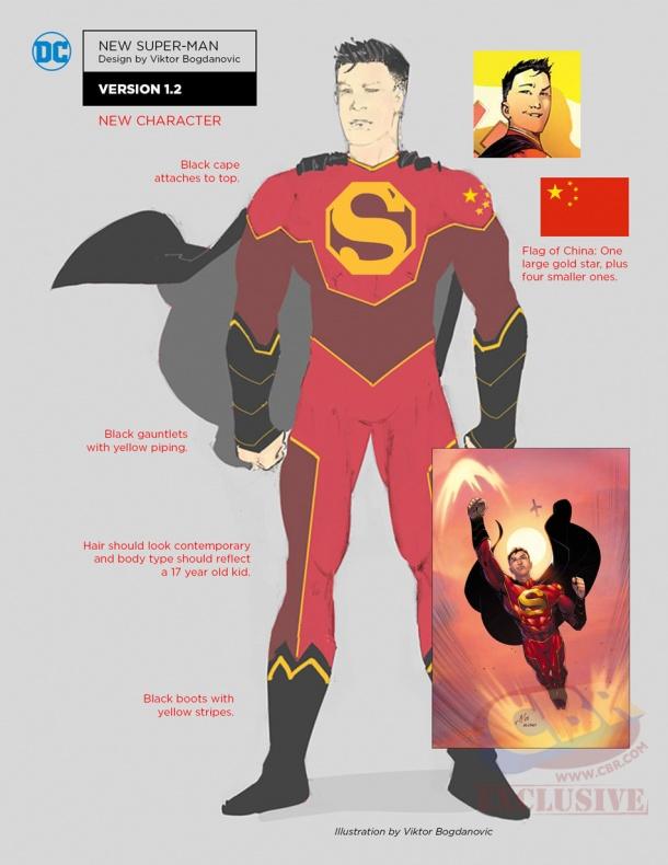 rebirth new super man notes e053e