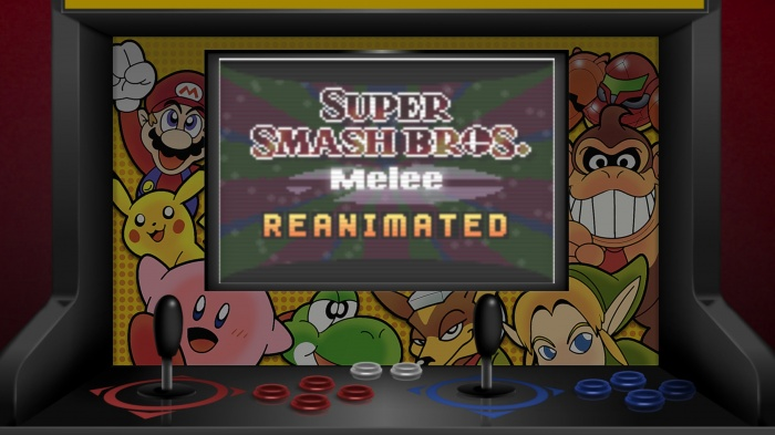 smash bros melee reanimated