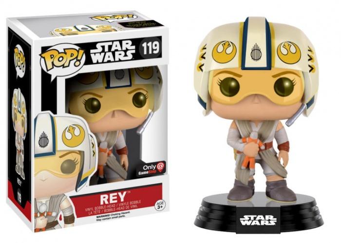 star wars tfa funko pop rey casco