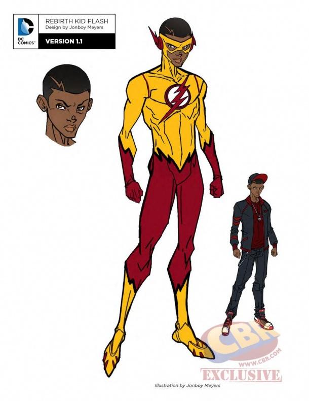 teen titans dc rebirth kid flash 1