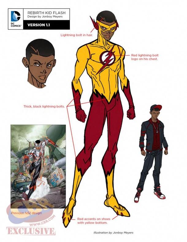 teen titans dc rebirth kid flash 2