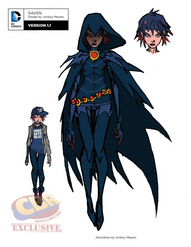teen titans dc rebirth raven 1