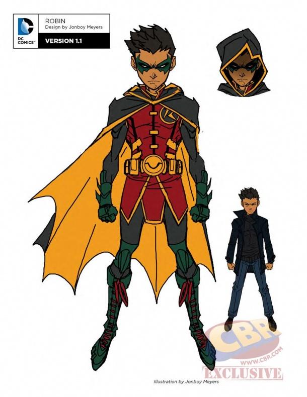 teen titans dc rebirth robin 1
