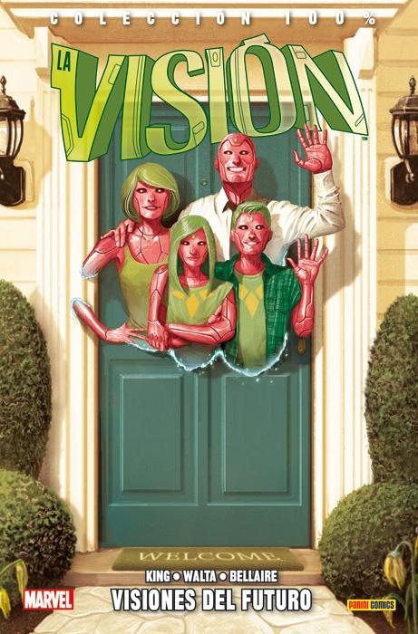 vision panini comics