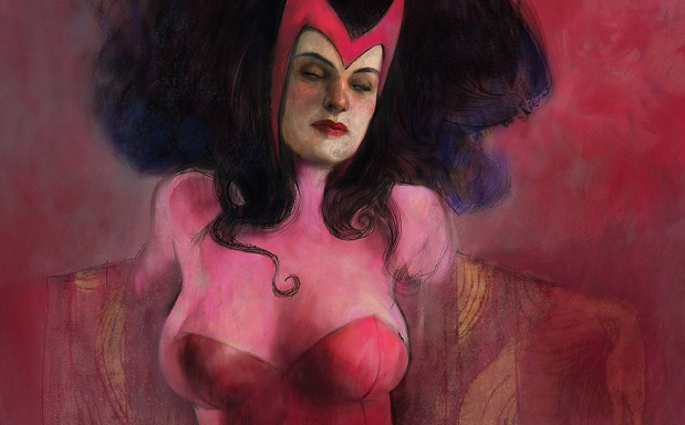 11 historias de cómic jamás resueltas Armario bruja escarlata