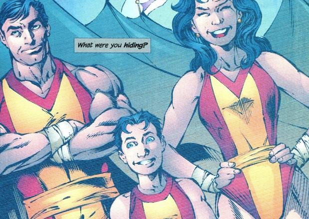 11 historias de cómic jamás resueltas Grayson Voladores