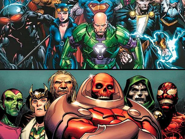 12 Villanos de comic que deberían aparecer en la gran pantalla principal