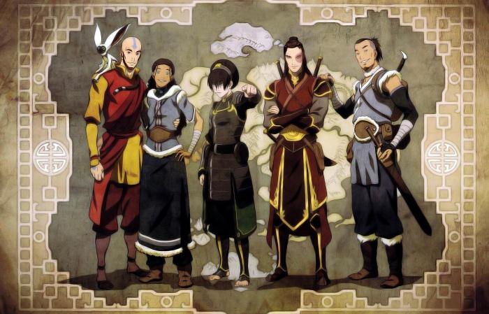 12 series de dibujos profundas Avatar Korra
