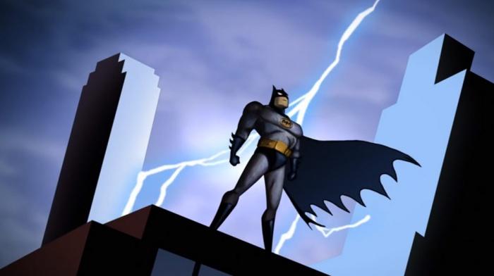 12 series de dibujos profundas Batman la serie animada