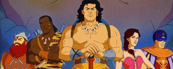 12 series de dibujos profundas Conan the adventurer