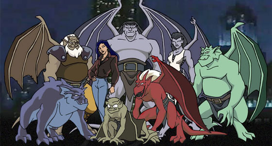 12 series de dibujos profundas Gargoyles