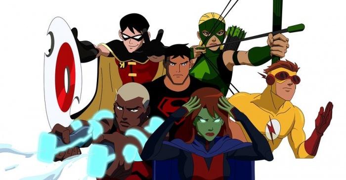 12 series de dibujos profundas Young Justice
