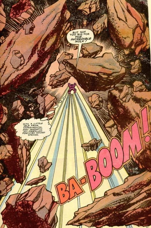 13 Proezas increíbles que han hecho los superhéroes 02 Hulk destruye un asteroide