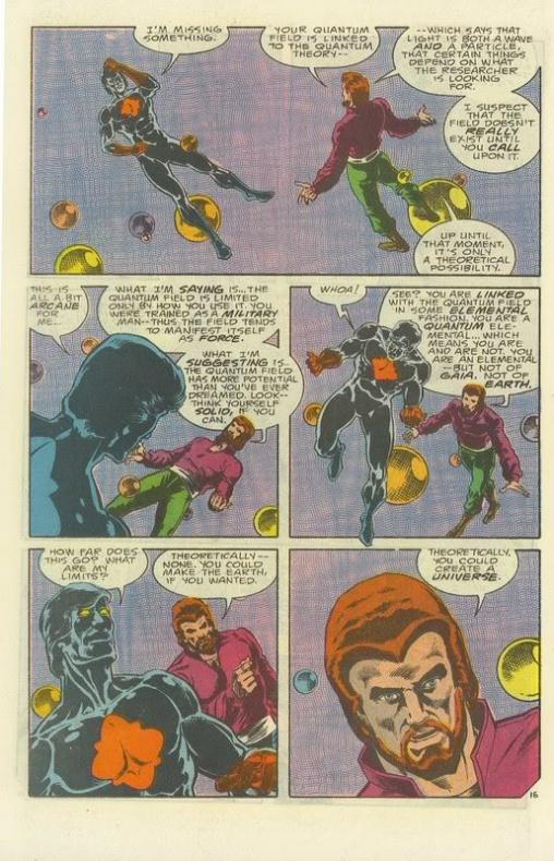 13 Proezas increíbles que han hecho los superhéroes 03 Capitán Átomo crea un universo