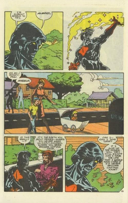 13 Proezas increíbles que han hecho los superhéroes 03.5 Capitán Átomo crea un universo