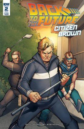 Back to the Future Citizen Brown Portada alternativa de Agustín Padilla