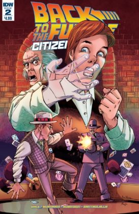Back to the Future Citizen Brown Portada principal de Alan Robinson