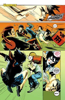 Batgirl Página interior (1)