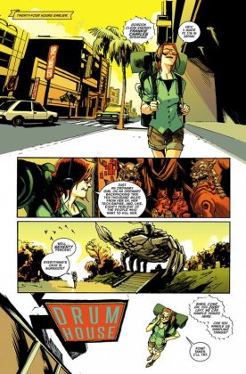 Batgirl Página interior (3)