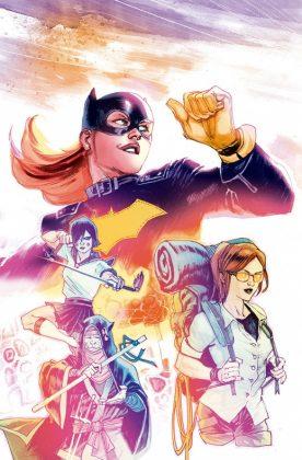 Batgirl Portada principal de Rafael Albuquerque
