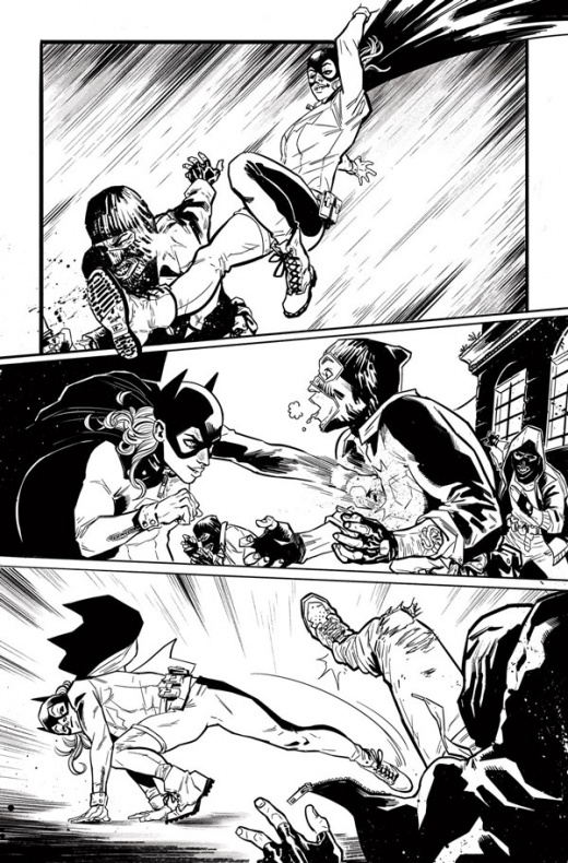 Batgirl and the Birds of Prey Rebirth Página interior (3)
