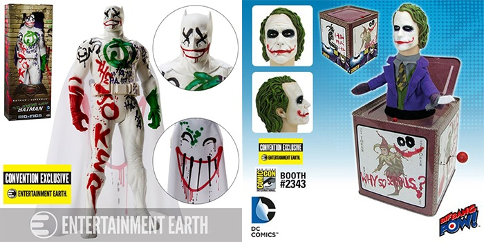 Batman Joker Entertainment Earth SDCC Destacada