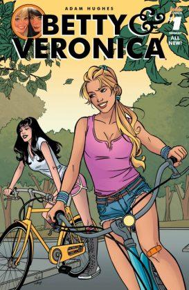 Betty & Veronica Portada de Alitha Martinez y Kelly Fitzpatrick