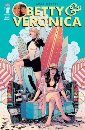 Betty & Veronica Portada de Bilquis Evely