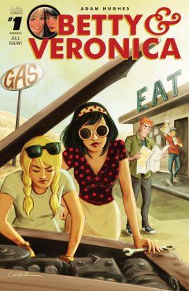 Betty & Veronica Portada de Collen Coover