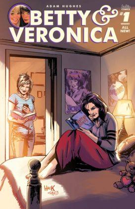 Betty & Veronica Portada de Robert Hack y Steve Downer