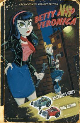 Betty & Veronica Portada de Stephanie Buscema