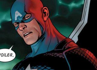 Captain America Steve Rogers - Spoiler