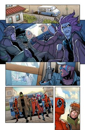 Deadpool and the Mercs for Money Página interior (2)