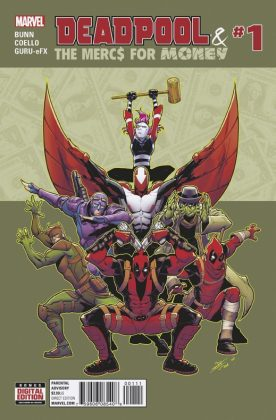 Deadpool and the Mercs for Money Portada principal de Iban Coello y Nolan Woodward