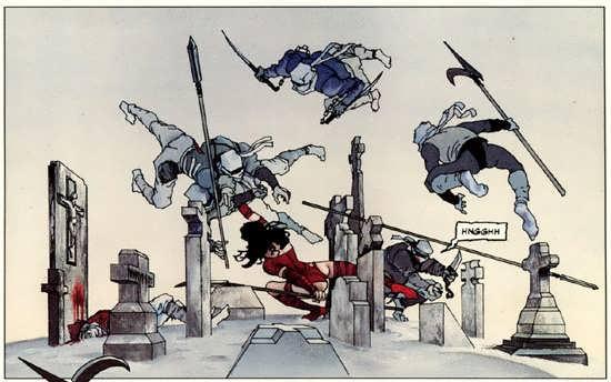Elektra contra La Mano