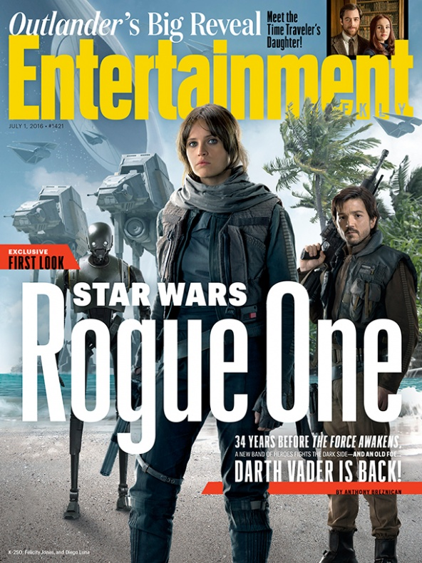 Entertainment Weekly Portada Star Wars